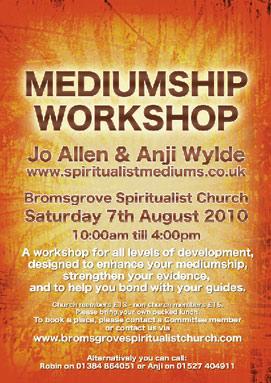 Services : Mediums Anji Wylde & Jo Allen